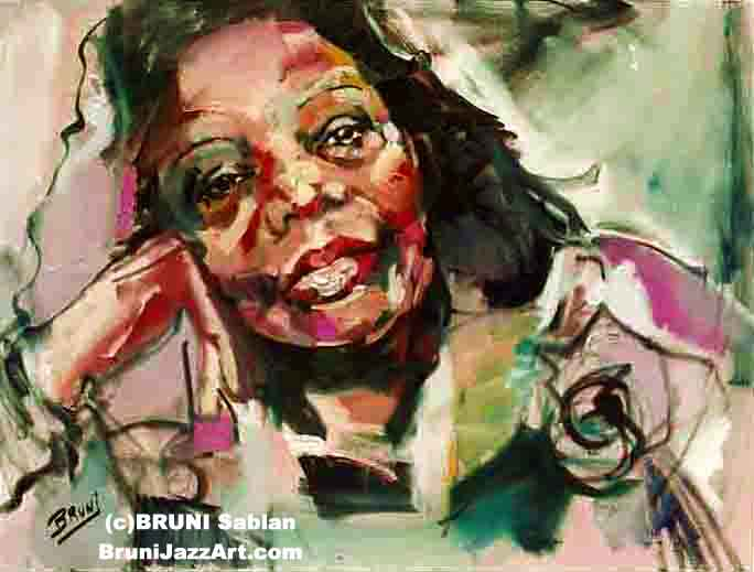 Mary Lou Williams by BRUNI