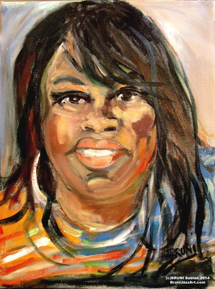 Sista Monica Parker Painting by BRUNI