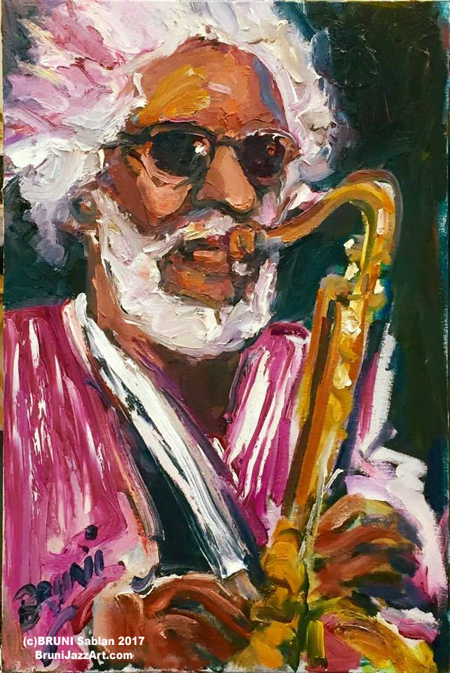 Sonny Rollins by BRUNI