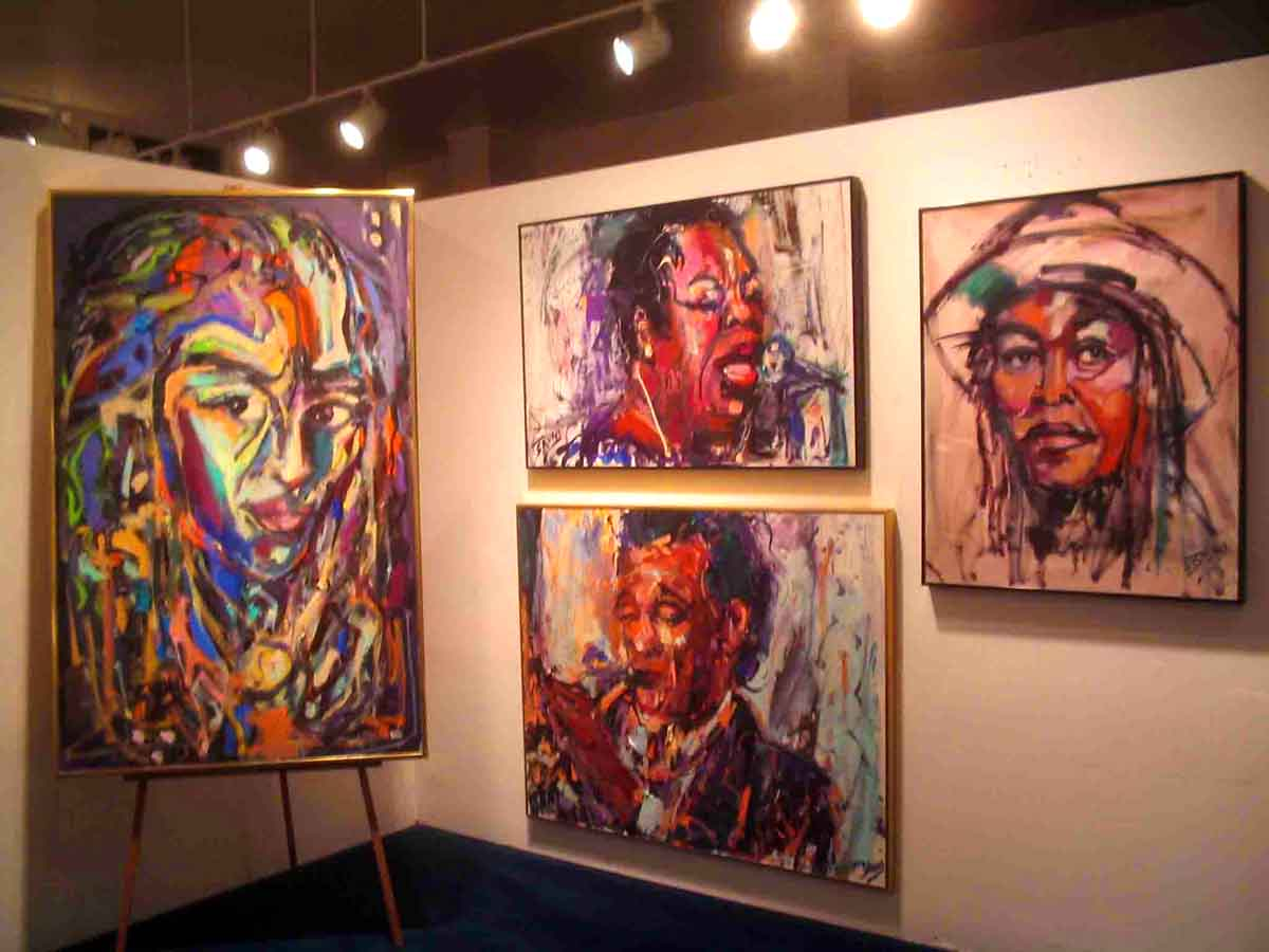 bruni gallery jazz paintings jazz art bruni sablan miles davis  jazz paintings