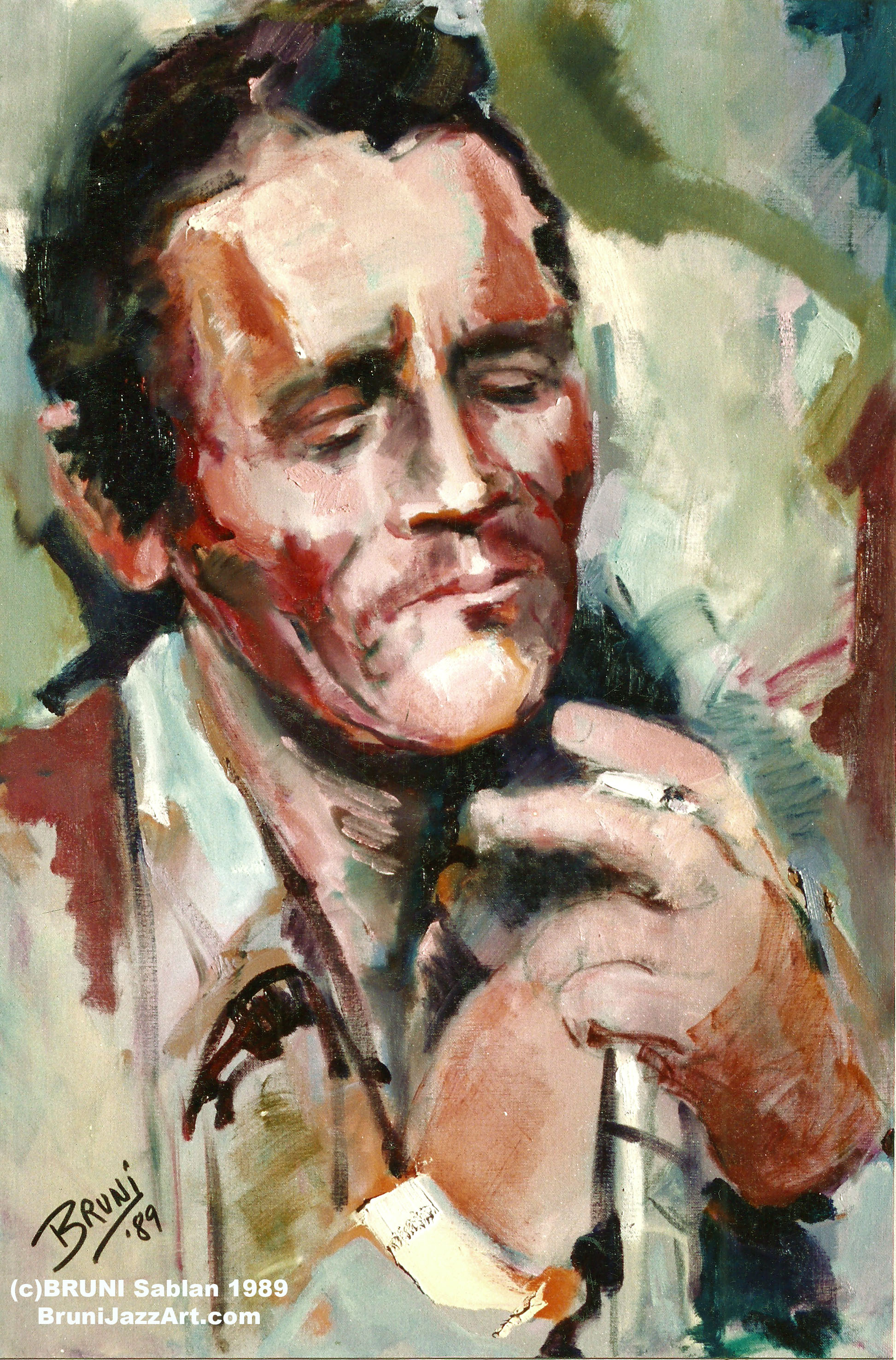 Chet Baker Painting by BRUNI