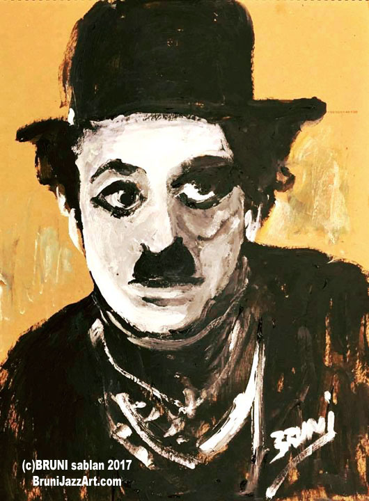 Charlie Chaplin by BRUNI