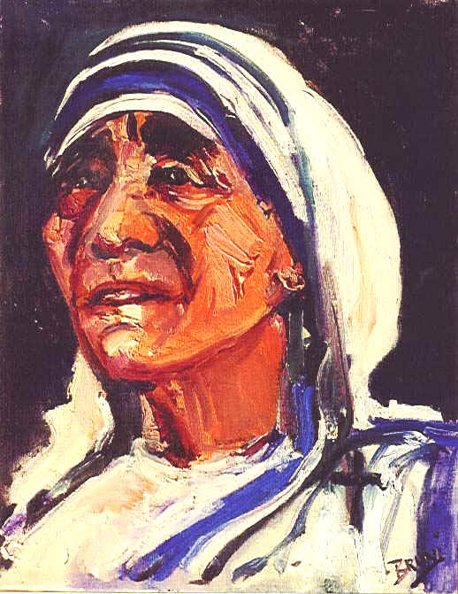 Mother Teresa,4,579,14x18,Faith.JPG (87231 bytes)