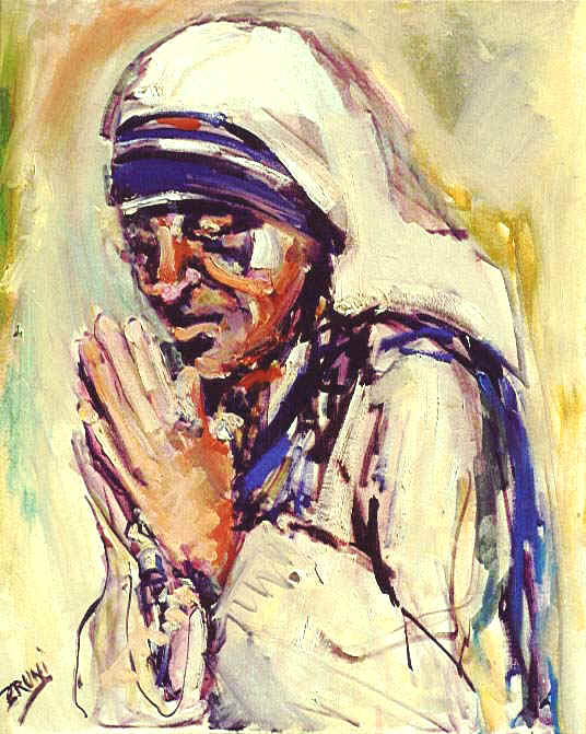 Mother Teresa,5,580,24x30,Love.JPG (89538 bytes)