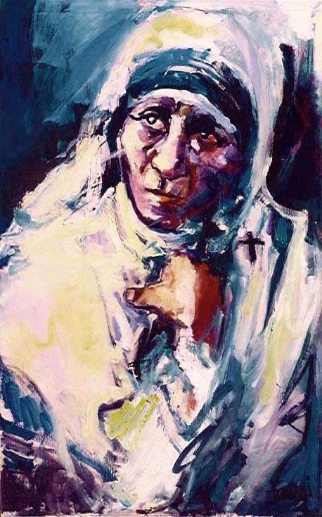 Mother Teresa,595,30x48,Grace.JPG (74071 bytes)