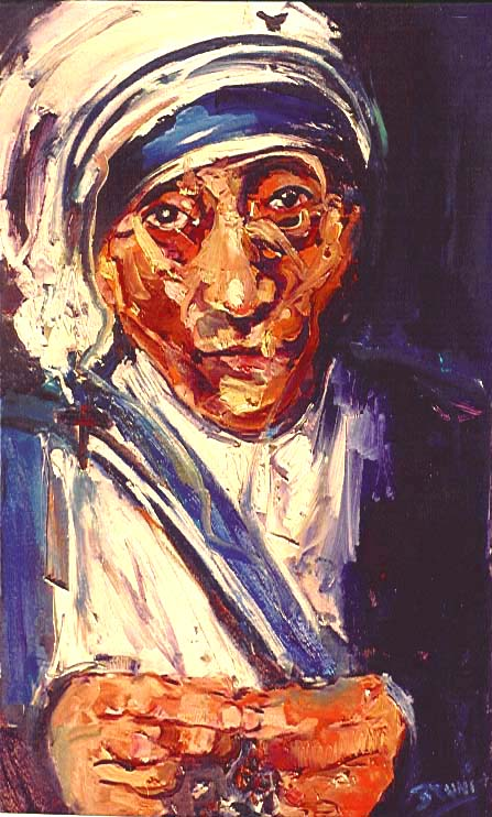 Mother Teresa,6,578,24x40,service.JPG (83991 bytes)