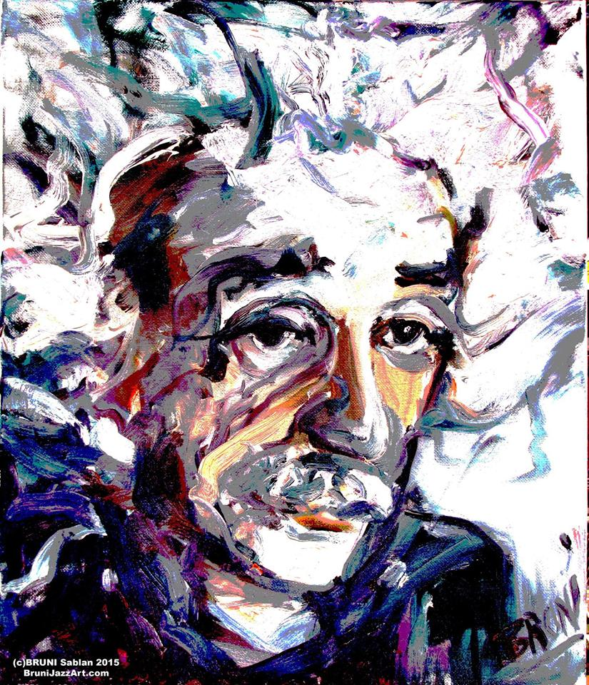 Albert Einstein Paintings = BRUNI Gallery